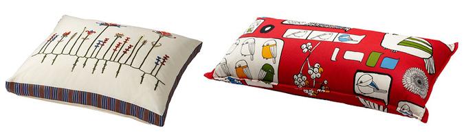 I cuscini per il soggiorno