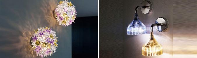 Lampade da parete per il soggiorno