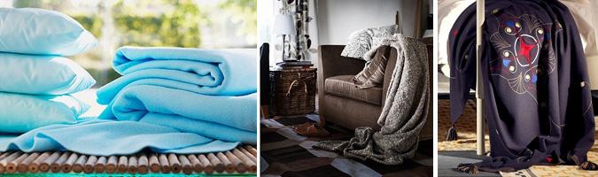 I plaid ideali per il soggiorno