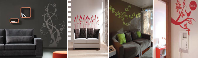 wall stickers per il soggiorno