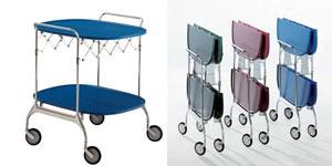Carrelli: strutture mobili e versatili capaci di personalizzare il ...