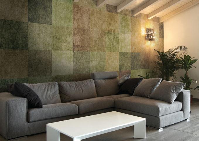 Best Rivestimenti Pareti Soggiorno Contemporary - Design Trends 2017 ...