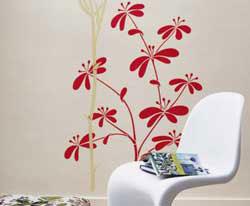 Le decorazioni murarie consigli utili su come decorare le - Decorazioni floreali per pareti ...