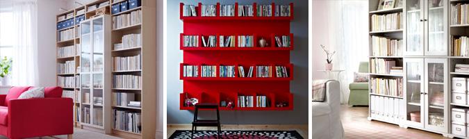 Le librerie adatte al soggiorno