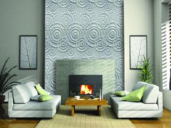 Come valorizzare le pareti del soggiorno con stampe e - Pannelli da parete decorativi ...