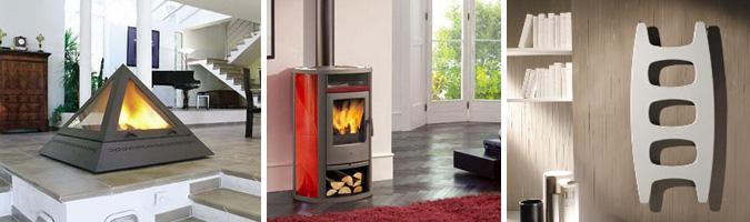 Camini, stufe e radiatori d'arredo per il tuo soggiorno