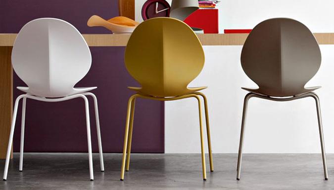 Sedie: tante forme, colori e materiali per un elemento ...
