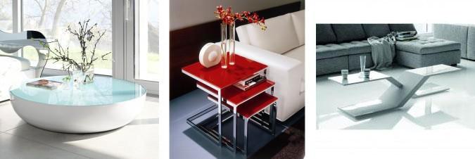 Come scegliere i tavolini da mettere davanti o affianco al divano.