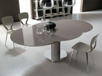 Tavolo design allungabile tavolo soggiorno vetro vistmaremma