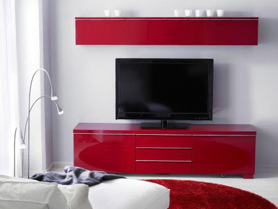 Mobili tv per una posizione ideale dello schermo e tutti - Mobile ad angolo per salotto ...