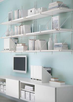 Mensole piani d 39 appoggio supplementari di gran stile - Mensole in vetro per soggiorno ...